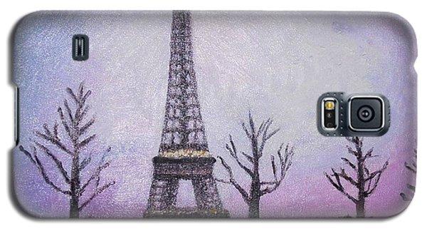 Eiffel At Night Galaxy S5 Case