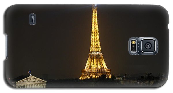 Eiffel Tower At Night Galaxy S5 Case