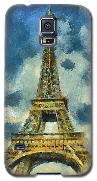 Eiffel Tower In Spring Galaxy S5 Case