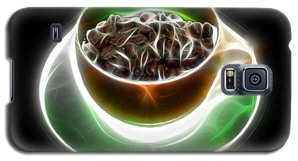 Electrifyin The Coffee Bean -version Orange Galaxy S5 Case