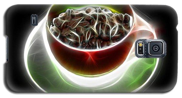 Electrifyin The Coffee Bean -version Red Galaxy S5 Case