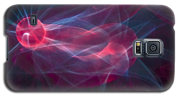 Electro Glow Ball-4 Galaxy S5 Case