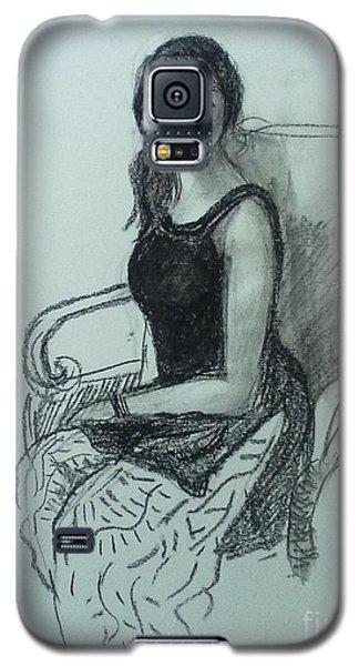 Elegant Woman Galaxy S5 Case