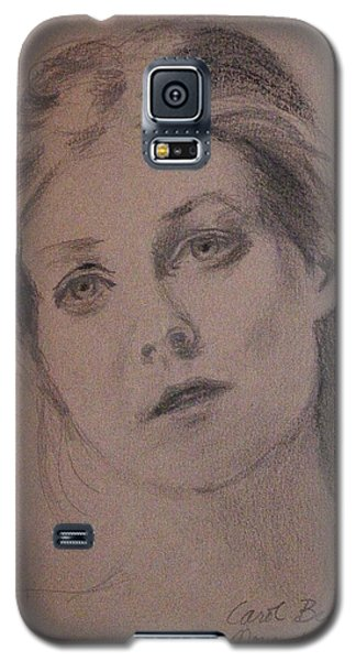 Galaxy S5 Case featuring the painting Em by Carol Berning