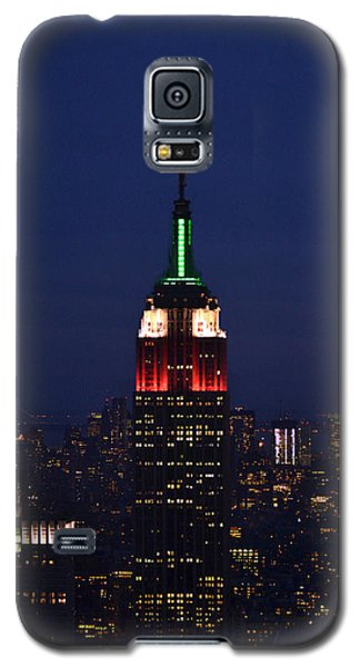 Galaxy S5 Case featuring the photograph Empire State Building1 by Zawhaus Photography