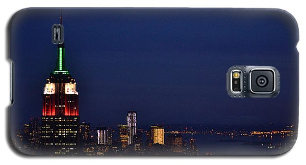 Galaxy S5 Case featuring the photograph Empire State Building3 by Zawhaus Photography