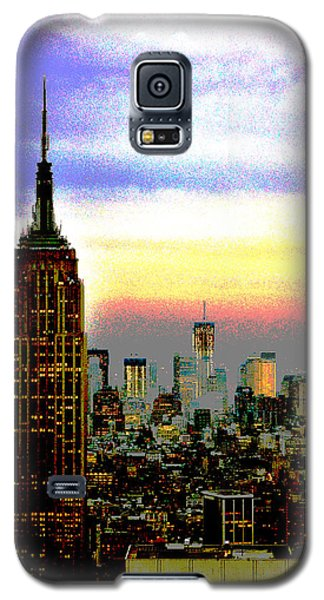 Galaxy S5 Case featuring the photograph Empire State Building4 by Zawhaus Photography