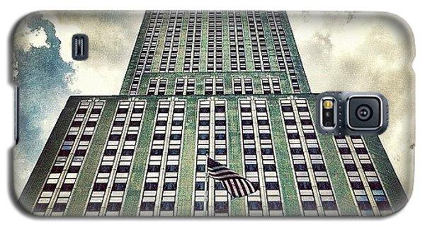City Galaxy S5 Case - Empire State by Luke Kingma
