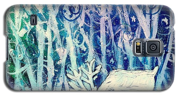 Enchanted Winter Forest Galaxy S5 Case