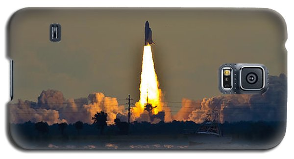 Endeavor Blast Off Galaxy S5 Case by Dorothy Cunningham