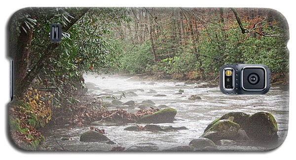 Enhanced Fog On The River Galaxy S5 Case by Michael Waters