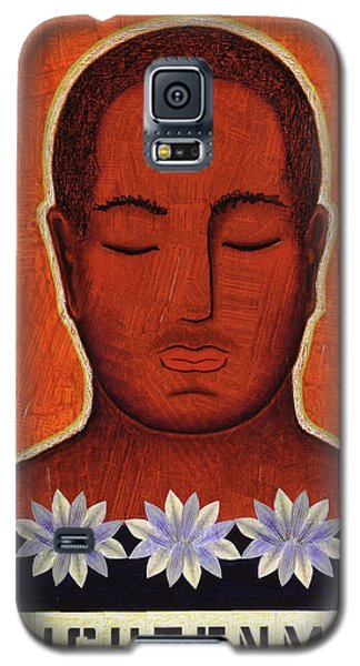 Galaxy S5 Case featuring the mixed media Enlightenment by Gloria Rothrock