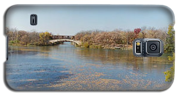 Galaxy S5 Case featuring the photograph Erie Canal Panorama by William Norton