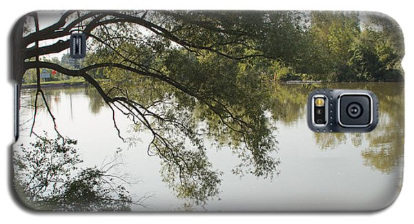 Galaxy S5 Case featuring the photograph Erie Canal Turning Basin by William Norton