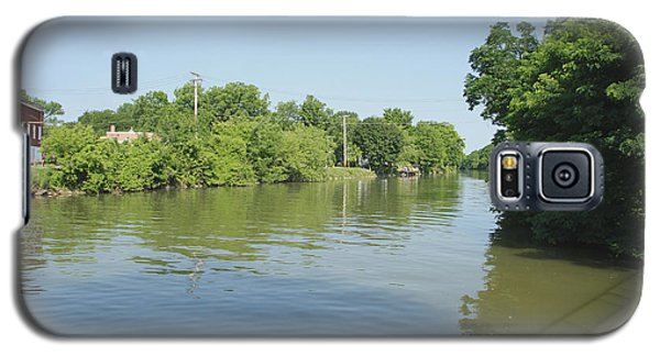 Galaxy S5 Case featuring the photograph Erie Canal by William Norton