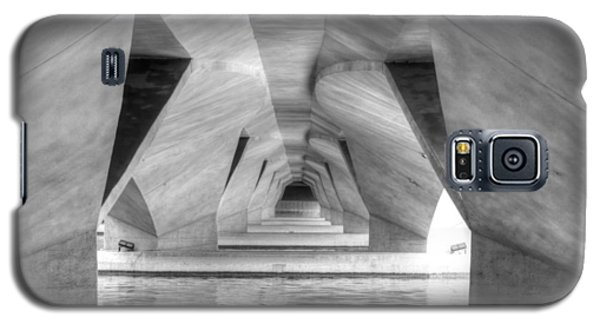 Esplanade Bridge Singapore Bw Galaxy S5 Case