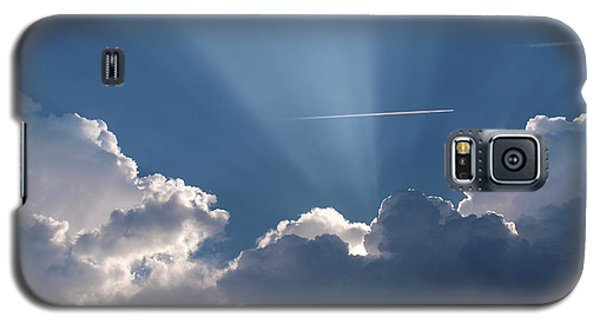 Even Through The Clouds You Will Find A Ray Of Sunshine Galaxy S5 Case