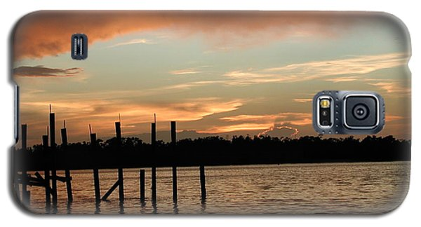 Everglades Sunset Galaxy S5 Case by Nancy Taylor