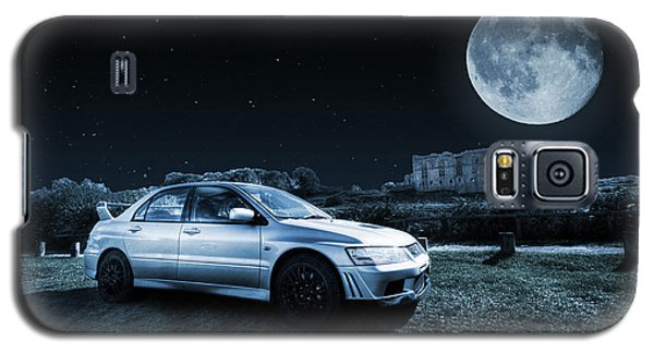 Galaxy S5 Case featuring the photograph Evo 7 At Night by Steve Purnell
