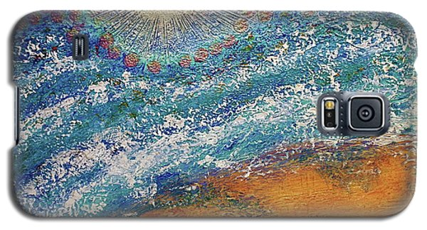 Galaxy S5 Case featuring the painting Expansion  Heaven For Pandemonium Set Painting  by D Renee Wilson