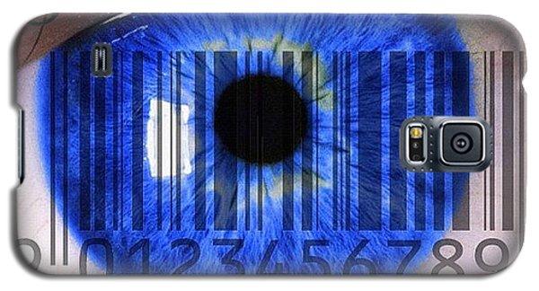Gmy Galaxy S5 Case - Eye Scan by Cameron Bentley