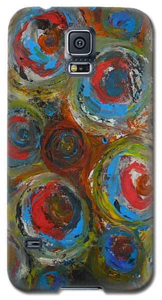 Galaxy S5 Case featuring the painting Eyeball by Everette McMahan jr