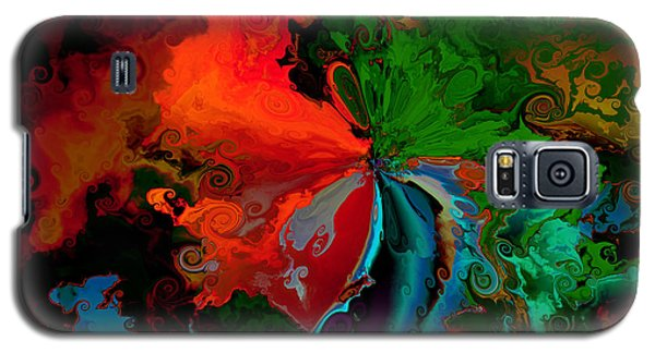 Faa Abstract 3 Invasion Of The Reds Galaxy S5 Case