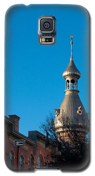 Galaxy S5 Case featuring the photograph Facade And Minaret by Ed Gleichman