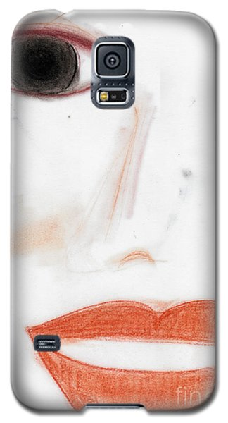 Galaxy S5 Case featuring the photograph Face by Vicki Ferrari