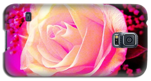 Galaxy S5 Case featuring the photograph Fairy Rose by Michelle Frizzell-Thompson
