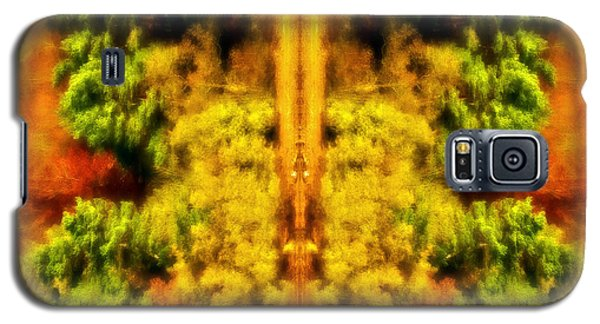 Fall Abstract Galaxy S5 Case by Meirion Matthias