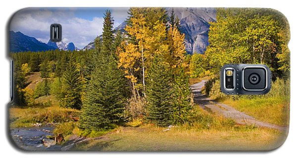 Galaxy S5 Case featuring the photograph Fall In Banff National Park by Bob and Nancy Kendrick