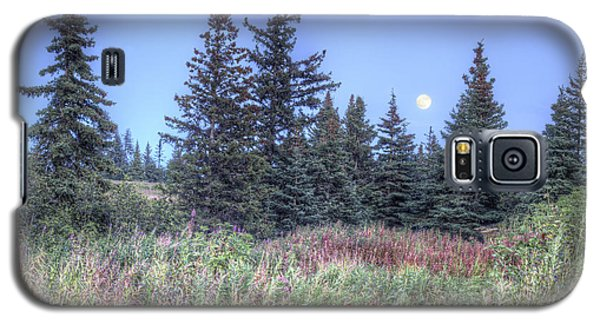 Galaxy S5 Case featuring the photograph Fall Moon by Michele Cornelius