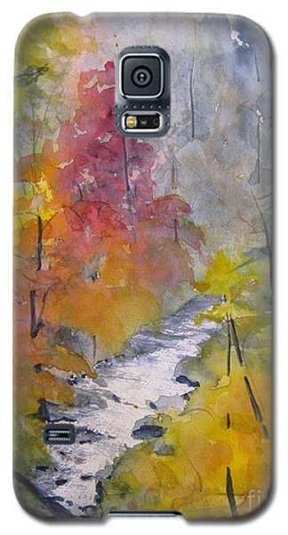 Fall Mountain Stream Galaxy S5 Case
