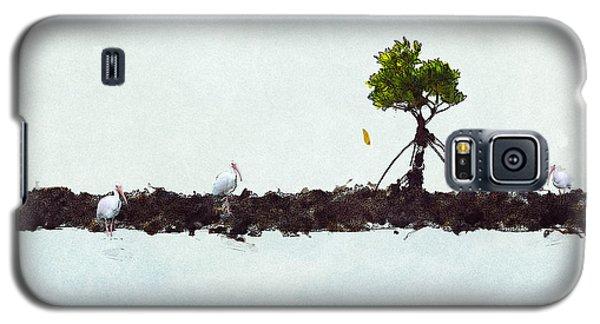 Falling Mangrove Leaf Galaxy S5 Case by Dan Friend