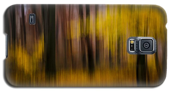 Falling Yellow Galaxy S5 Case