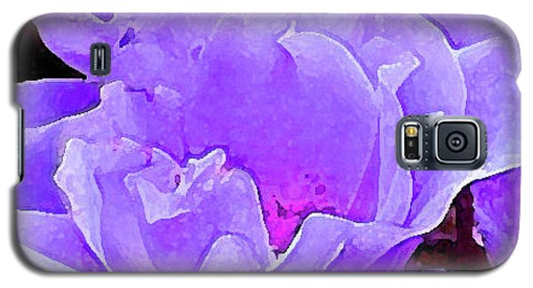 Galaxy S5 Case featuring the photograph Fantasia Flower by Roena King