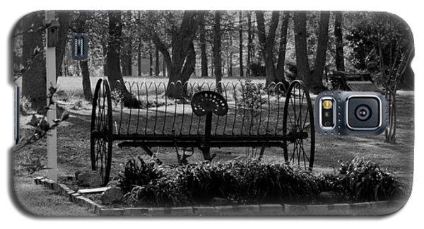 Galaxy S5 Case featuring the photograph Farm Antique by Karen Harrison