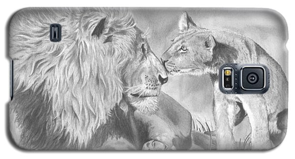Father And Cub Galaxy S5 Case