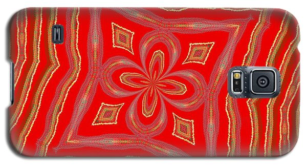 Galaxy S5 Case featuring the digital art Favorite Red Pillow by Alec Drake