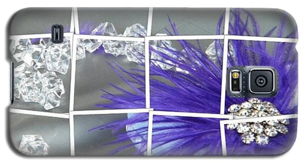 Galaxy S5 Case featuring the digital art Feather And Jewels by Michelle Frizzell-Thompson