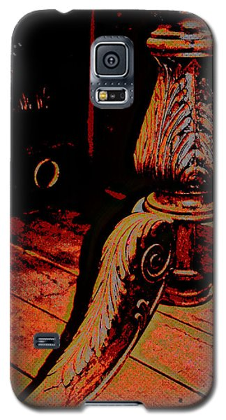 Feathered Wood Galaxy S5 Case