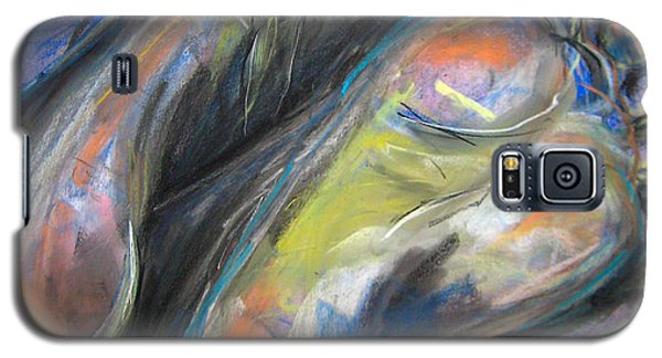 Galaxy S5 Case featuring the drawing Feet by Gabrielle Wilson-Sealy