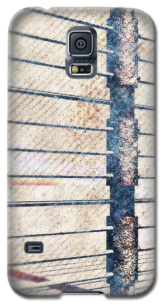 Galaxy S5 Case featuring the digital art Fence Post by Phil Perkins