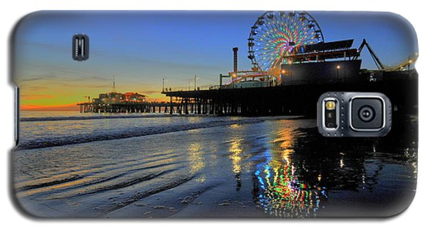Ferris Wheel Sunset Galaxy S5 Case