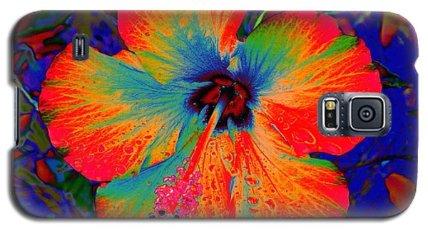 Festonned Hibiscus Galaxy S5 Case