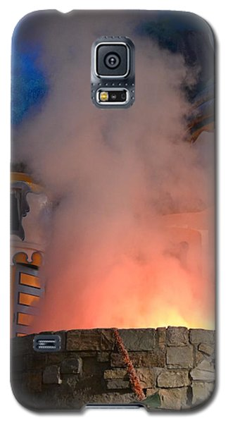 Fiery Entrance Galaxy S5 Case by Bonnie Myszka