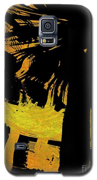 Fiery Night Galaxy S5 Case by Nancy Dole McGuigan
