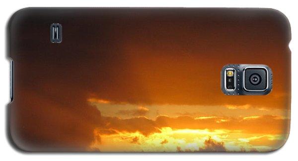 Fiery Sky Galaxy S5 Case