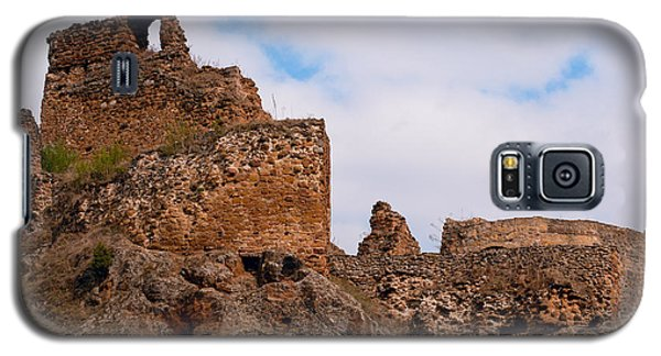 Galaxy S5 Case featuring the photograph Filakovo Hrad - Castle by Les Palenik